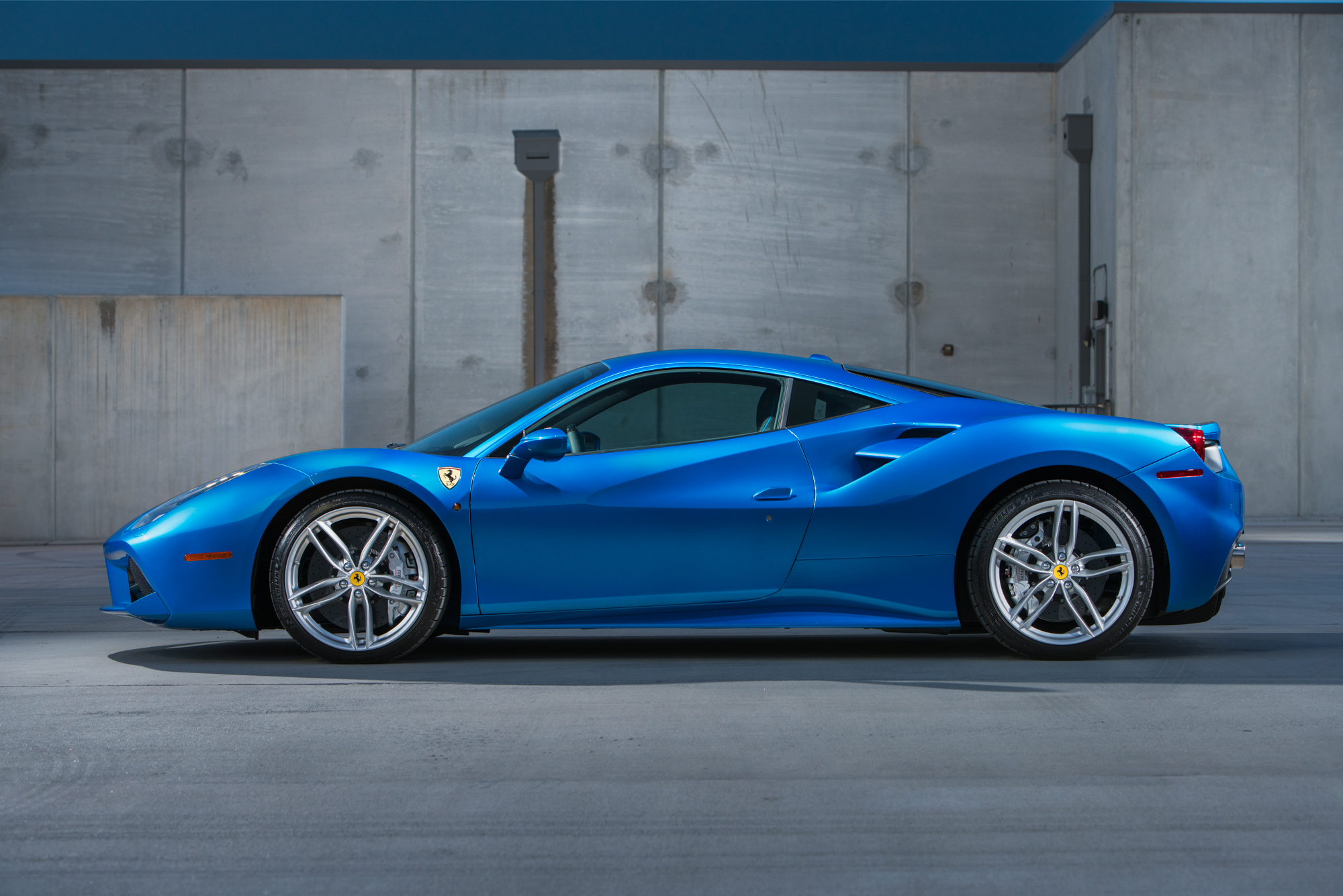 Ferrari 488GTB by Ian Roth Automotive Photographer